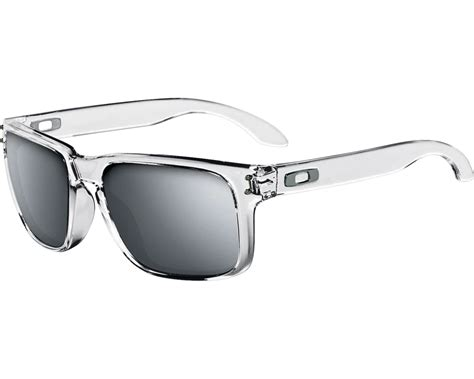 Oakley Holbrook Transparan oakley holbrook polished clear chrome iridium oakley sunglasses