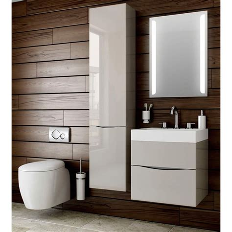 Bauhaus Glide Ii 70 Wall Hung Vanity Unit With Basin Bathroom Furniture Designs