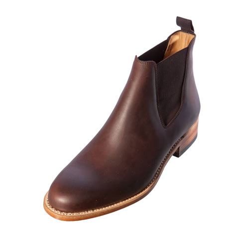 sancho boots brown leather mens chelsea boots shoes