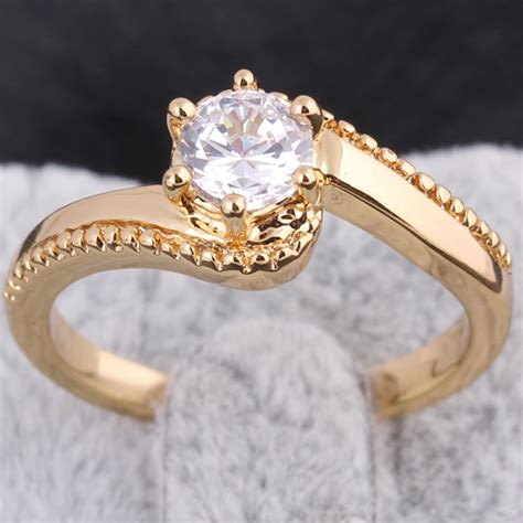 Gold Wedding Ring New Design by 2015 New Fashion Classic S Design Wedding Ring 18k Gold