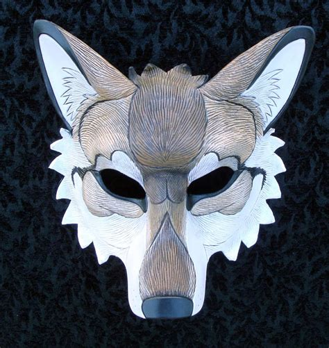 How To Make A Wolf Mask Out Of Paper - custom wolf mask by merimask on deviantart