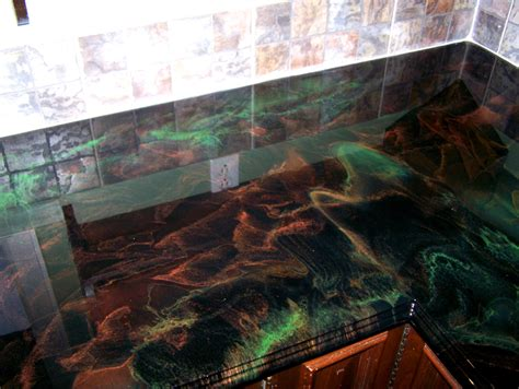 Epoxy Kitchen Countertops 10 Unique Kitchen Countertop Designs That Actually Work