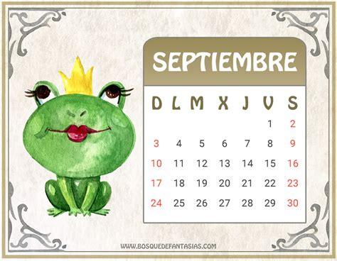 Calendario Septiembre 2017 Calendarios Para Ni 209 Os 174 Calendario Infantil 2017 Para