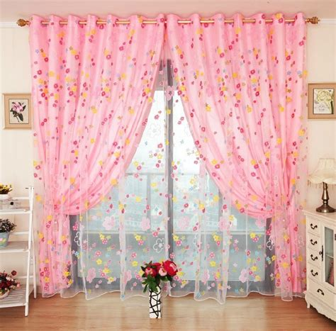 Gorden Blackout Shabby Chic Ori pink curtains chinaprices net