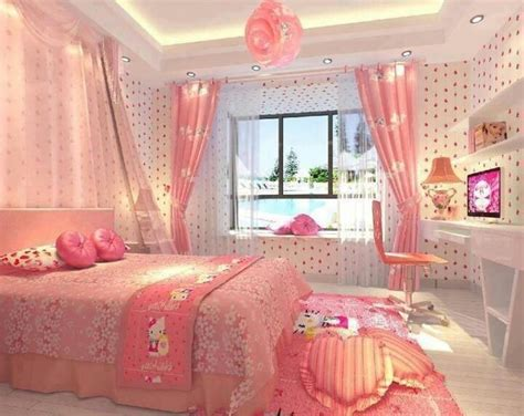 images of pink bedrooms hello kitty pink bedroom pictures photos and images for facebook tumblr pinterest