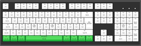 keyboard layout iso max iso 105 key cherry mx full replacement keycap set blank