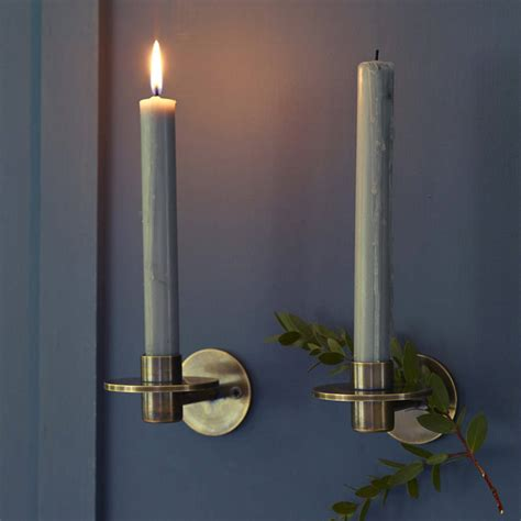 leland wall candle holder by rowen wren