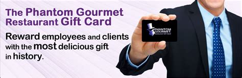 Phantom Gourmet Gift Card Restaurants - corporate incentives the phantom gourmet restaurant gift card