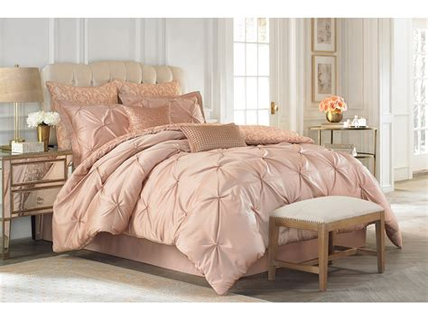 gold bed set vince camuto rose gold comforter set king shipped free
