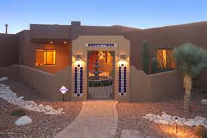 Santa Fe Style Home by Quail Canyon Santa Fe Style Home Under Contract 171 Sabino