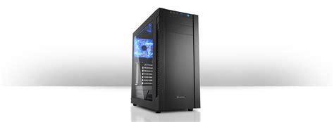 Sharkoon T3 W Gaming Casing Atx Midi Tower Green Blue Led Bla sharkoon s25 w