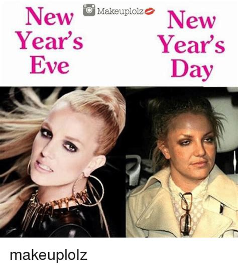 New Years Eve Meme - new makeuplolz new year s year s eve day makeuplolz