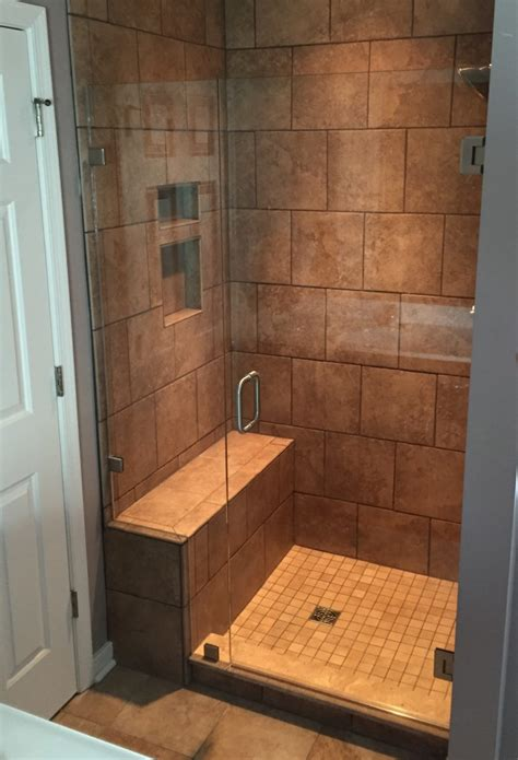 Shower Enclosure With Bench Frameless Shower Enclosure With Bench Seat Virginia