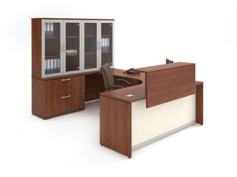 used reception desks new used reception desks nc
