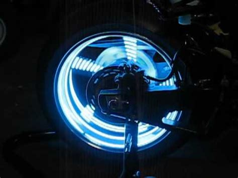 Motorcycle Wheel Lights by Motorcycle Wheel Light Kit