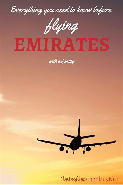 emirates unaccompanied minor emirates family flying airline review baby globetrotters