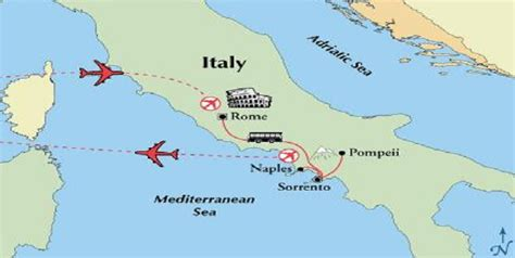 map of amalfi coast amalfi coast vacations escorted tours and independent italy vacations
