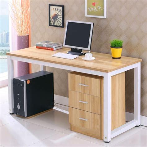 desktop computer desk minimalist combination of books on