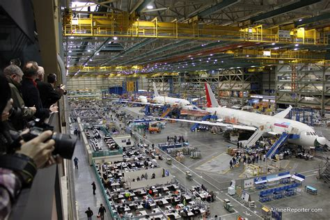 Boeing Everett Building Maps Car by Boeing Factory Tour 787 Dreamliner And 777 Worldliner