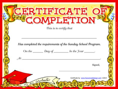 school certificate templates free sunday school certificate templates for excel pdf and word