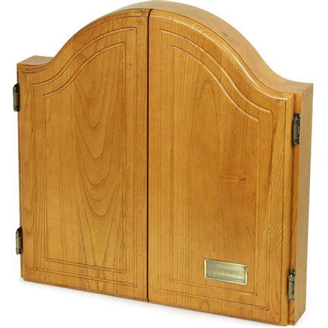 Dartboard And Cabinet by Sherwood Oak Dartboard Cabinet Drinkstuff