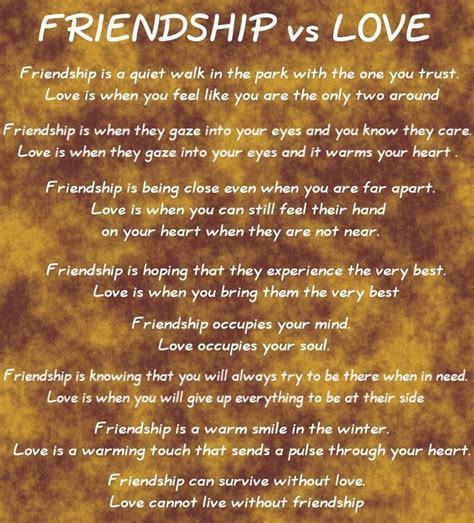 love and freindship and quotes friendship and love friendship quotes