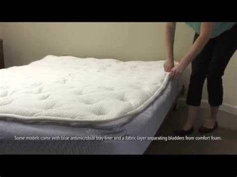2 chamber boyd air bed set up