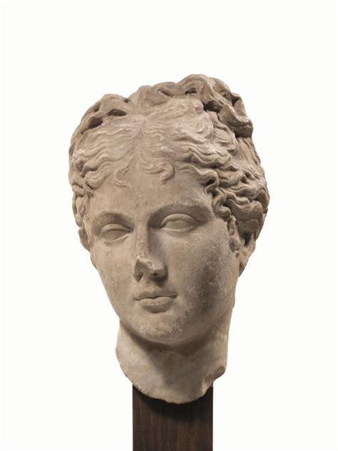 testa di testa di afrodite produzione romano imperiale della met 192