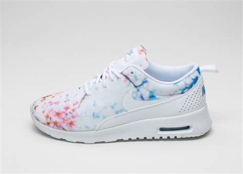Air Max Thea Print C 17 nike wmns air max thea print cherry blossom white