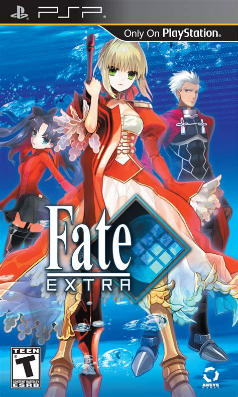 theme psp fate stay night fate extra review psp games reviews paste