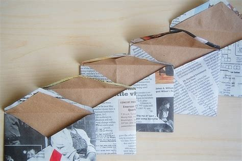 How To Make Paper Out Of Magazines - 15 ways to repurpose newspaper