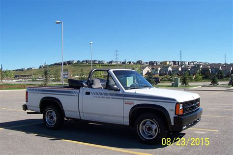 Convertible Pickup Survivor: 1990 Dodge Dakota