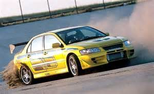 Fast Furious Mitsubishi Lancer Fast And The Furious Cars List Of All Fast And Furious