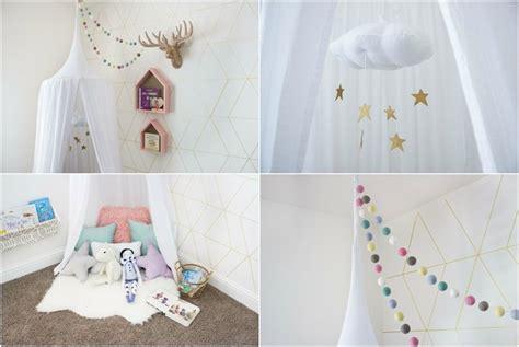 kinderzimmer dekorieren ideen diy ideen wie sie einen baldachin im kinderzimmer selber