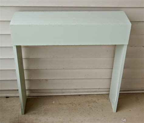 simple sofa table front porch simple console table our house now a home