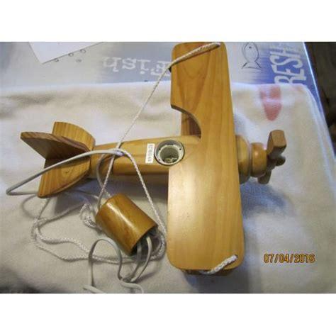 lustre chambre d enfant lustre avion en bois pour chambre d enfant achat et vente