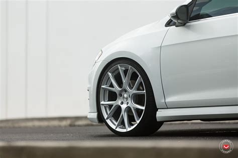volkswagen golf wheels new volkswagen golf sportwagen gets vossen wheels