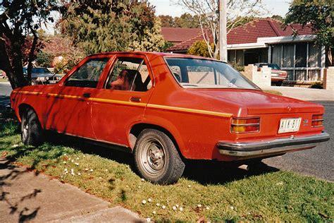 holden torana history file 1975 lh holden torana rear burwood vic sept 1995