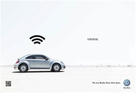 volkswagen ads 2014 volkswagen ibeetle caign powered by apple gute werbung