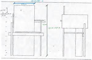 sedia misure sedia rietveld misure sedute il design a misura di