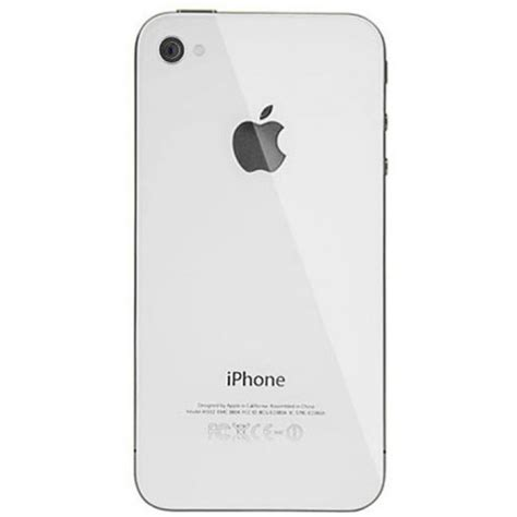 Back Cover Iphone 4 Iphone 4 Back Cover White