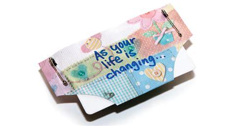 Diaper Gift Card Holder - diaper card holder