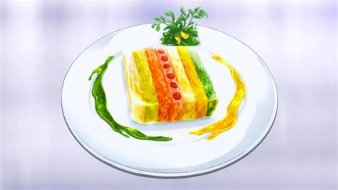 9 vegetables terrine food wars recipes sevac southeastern virginia anime
