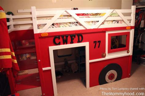fire truck bunk bed pdf fire engine bunk bed plans plans free