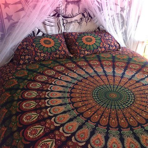 tapestry bedding sets mandala tapestry comforter cover flat from