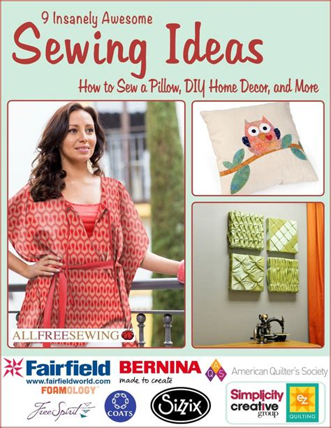 8 easy sewing projects for the home free sewing patterns
