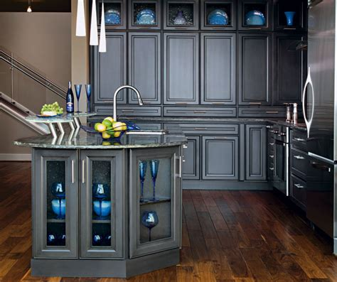 Kitchens With Grey Cabinets Dark Grey Kitchen Cabinets Decora Cabinetry