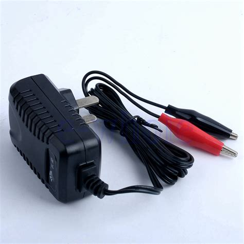 6v rechargeable battery and charger black 6v volt 500ma sealed lead acid rechargeable battery