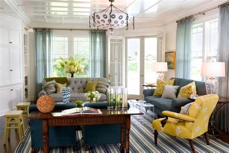 yellow and grey check chair a house for trish tips for mixing patterns