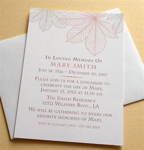Invitation Templates Celebration Of Life Invitations Invitation Template Invitations Cards Celebration Of Cards Templates Free